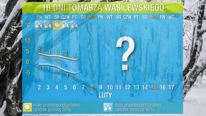 Pogoda na 16 dni: ochłodzenie, mróz i śnieg, a potem wiosna