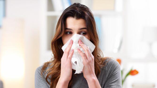Czy przez to, że przebywamy w domu, alergie są mniej uciążliwe?