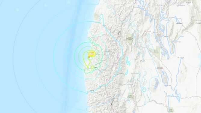 Trzęsienie ziemi w Chile. Dwie ofiary śmiertelne