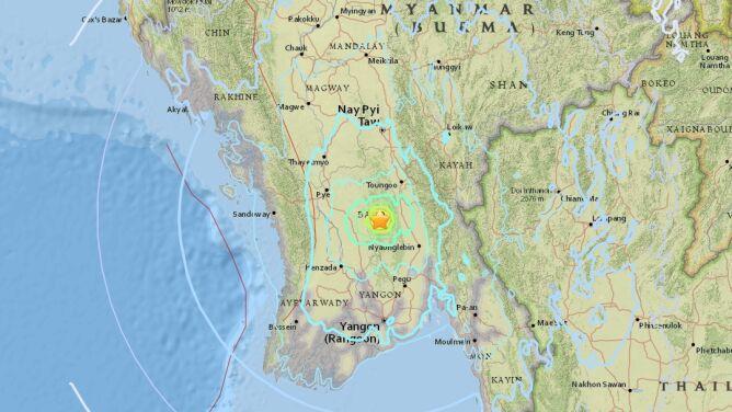 """Silne trzęsienie ziemi. <br />""""Powtórzyło się trzy razy"""""""