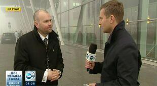Mgła sparaliżowała wrocławskie lotnisko (TVN24)